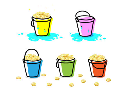 Coin Buckets