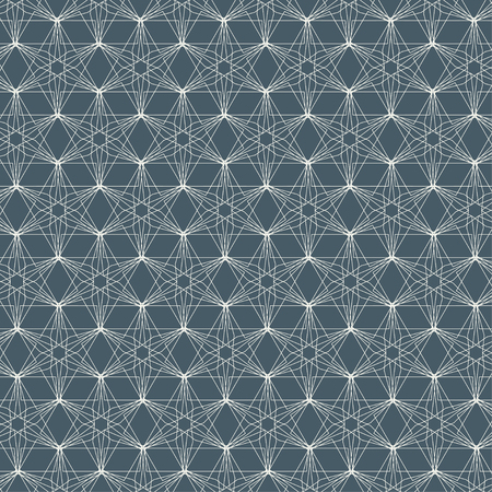 generative: Vector seamless pattern. Modern stylish texture. Repeating geometric tiles.