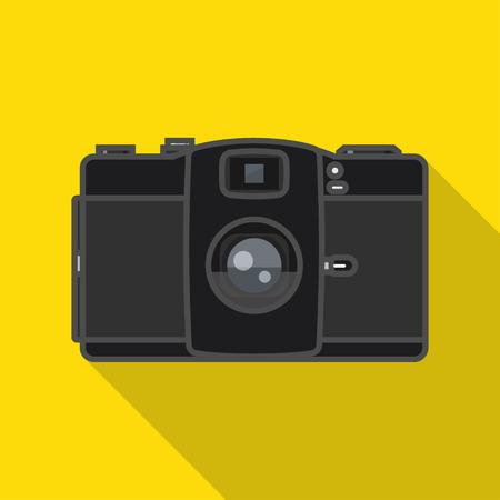 2d: Flat 2D retro film camera