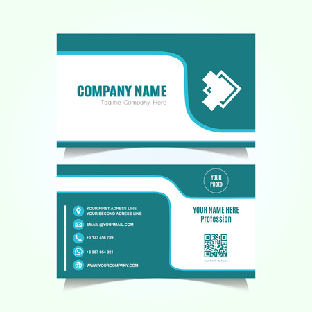 Modern and Elegant Corporate Card