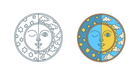 Jour de l'équinoxe de printemps et de l'équinoxe d'automne