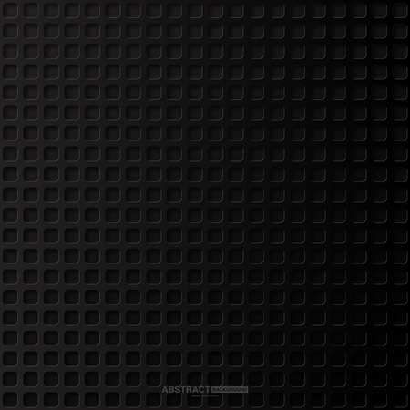 Black abstract background with dark concept.Vector Illustration. Çizim