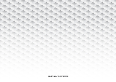 Geometric white abstract background design,used for graphic design. Çizim
