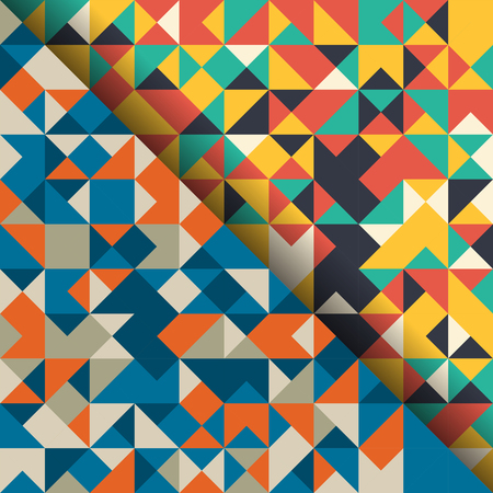 Pattern with geometric design wallpaper background,vector illustration.
