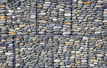 Gabion  building background  Stock Photo - 17350964