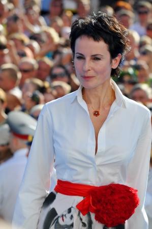 Attrice Irina Apeksimova al Russian Open Festival Kinotavr il 3 giugno 2012, Sochi, Russia