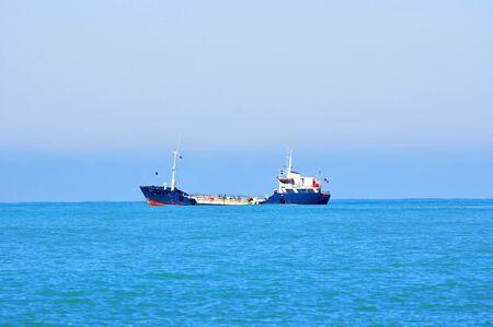Cargo shipping in a Black Sea Stock Photo - 17401199