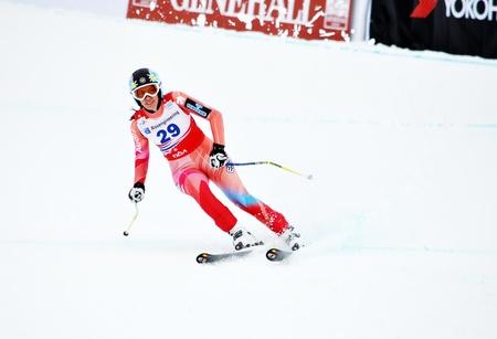 ruiz: SOCHI, RUSSIA - FEBRUARY 18: Carolina Ruiz Castillo competes in the FIS Alpine Ski World Cup 20112012 on February 18, 2012 Russia, Sochi, Rosa Khutor