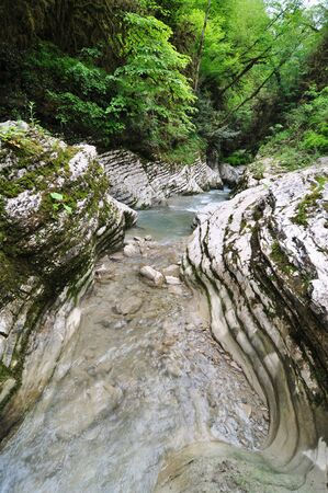 Canyon in the Sochi Natural Park Stock Photo - 17399869