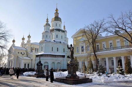 kharkov: Patronal feast in Pokrovsky Monastery, Kharkov