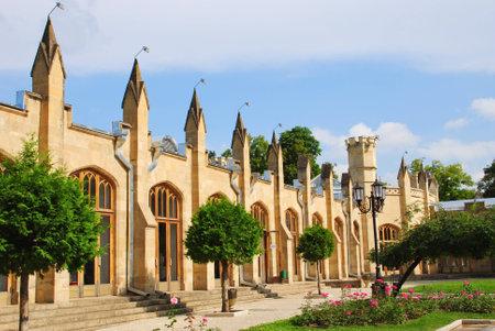 Narzan gallery in Kislovodsk resort park