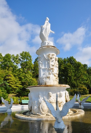 Fountain  Fairy Tale  in Sochi Arboretum Stock Photo - 17496354