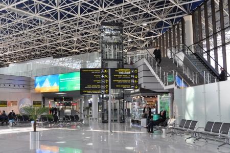 Sochi airport, Russia