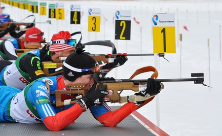 Cup of Russia on biathlon in Sochi on February 10, 2012
