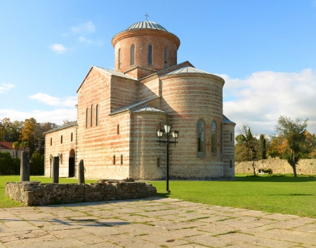 patriarchal: Patriarchal Cathedral in Pitsunda, Abkhazia, built in X century