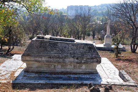 brethren: Old tomb of the Brethren Cemetery during the Crimean War, 1853-1856, Sevastopol, Ukraine Editorial