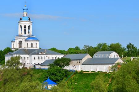 bogolyubovo: Belfry of the Monastery in Bogolyubovo, Russia