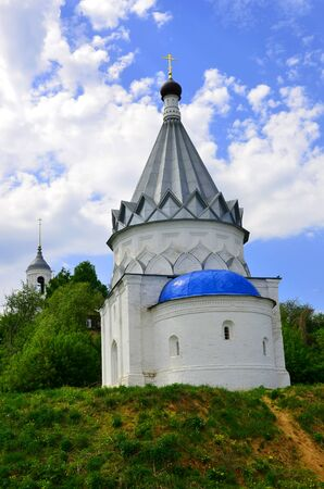 Church of Kozma and Demyan on the hill in the spring, Murom, Russia