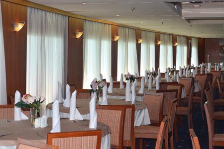 SOCHI, RUSSIA - June 11, 2017: Interior of the restaurant
