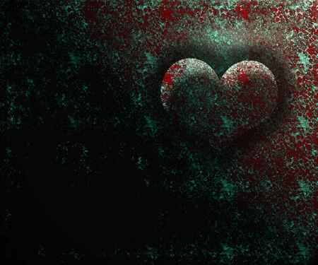 underlying: Valentine hearts background