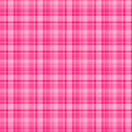 Pink Plaid Background