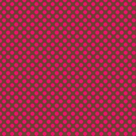 Pink PolkaDots Background Stock Photo