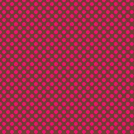 Pink PolkaDots Background Stock Photo