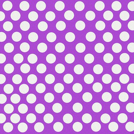 Purple With White PolkaDots Glitter Background