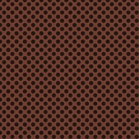 Brown PolkaDots Background