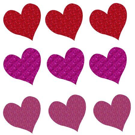 Glitter Hearts II
