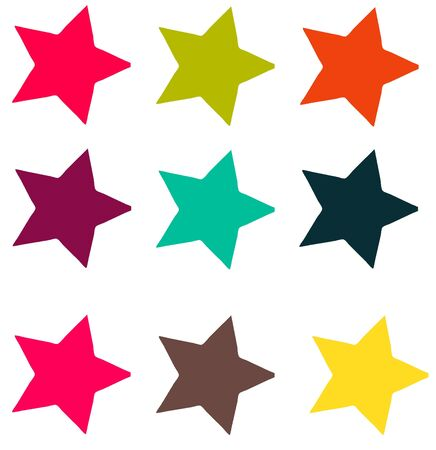 Carnivale Colored Stars
