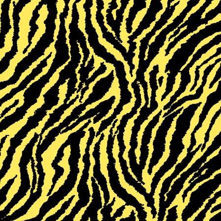 Yellow Glitter Zebra