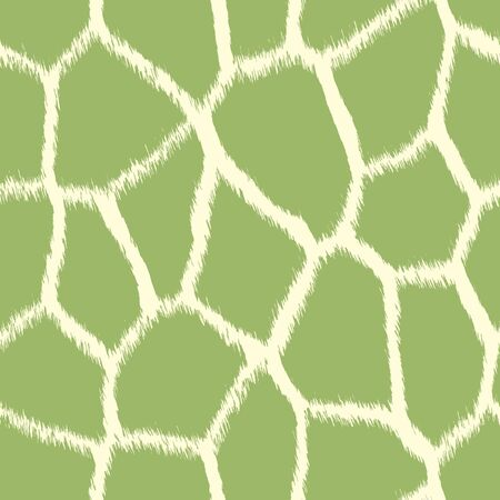 Light Green Giraffe Print