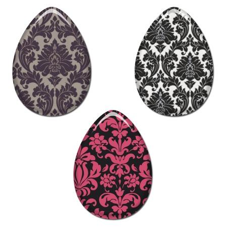 Damask Easter Eggs Set 1