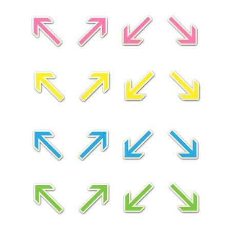 Pastel Arrows Set 2