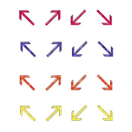 MakeUp Filled Arrows Set 2