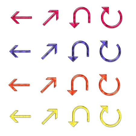MakeUp Filled Arrows Set 4