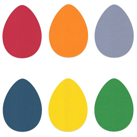 Felt Easter Eggs Set 2