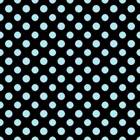 Black   Light Blue Polkadot Paper