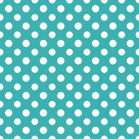 파란색 흰색 Polkadot 용지