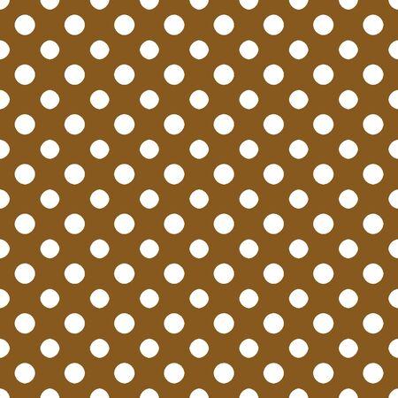 Brown   White Polkadot Paper Stock fotó