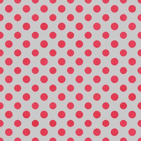 Gray   Raspberry Polkadot Paper