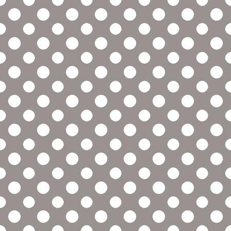 Gray   White Polkadot Paper Banco de Imagens
