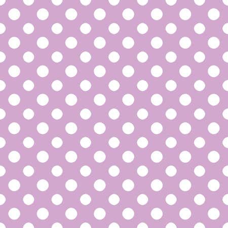 Light Purple   White Polkadot Paper