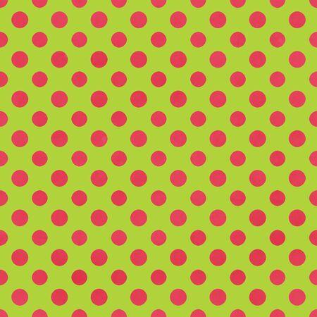 Lime Green   Pink Polkadot Paper Banco de Imagens