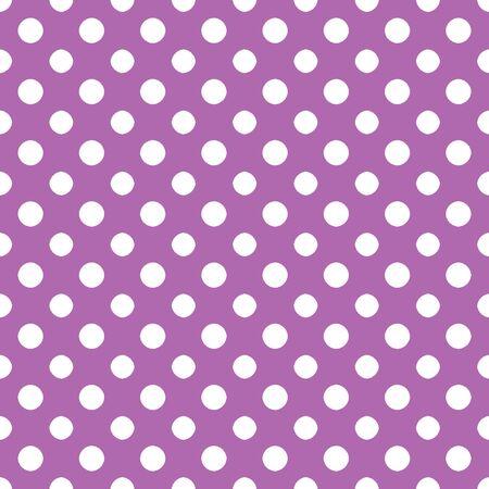 Purple   White Polkadot Paper