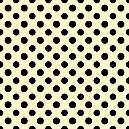White   Black Polkadot Paper Stock Photo