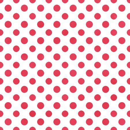 White   Raspberry Polkadot Paper Фото со стока