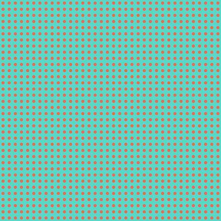 Blue   Peach Mini Polkadot Paper
