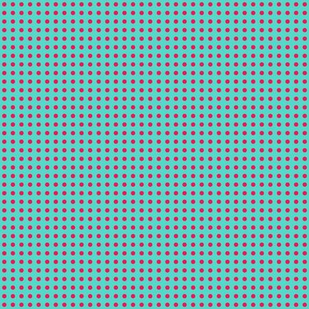 Blue   Hot Pink Mini Polkadot Paper